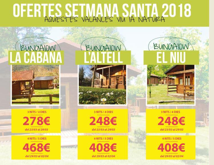 OFERTES DE SETMANA SANTA