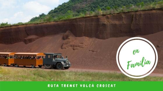 Ruta Trenet Volcà Croscat, una excursió amb nens ideal per conèixer la zona volcànica de la Garrotxa