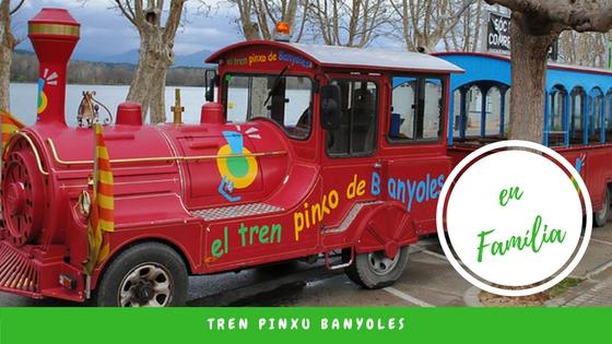 Escapada amb nens per Banyoles, el tren Pinxu!